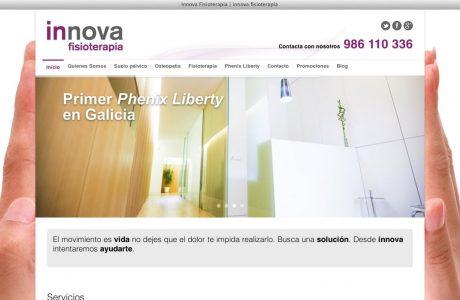 Web corporativa de un centro de fisioterapia, especializado en fisioterapia general, uroginecológica y osteopatía.