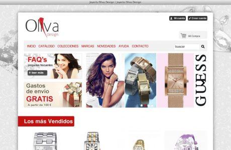 Tienda online de relojes y complementos para mujer y hombre. Desarrollo a medida con PHP y MySQL.