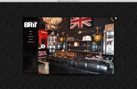 Web corporativa del pub Brit Coruña.