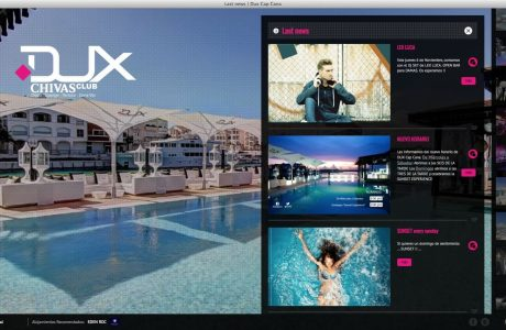 Web corporativa de Dux Cap Cana.