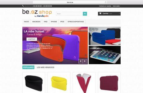 Tienda Online de accesorios, bolsas y fundas para portátiles Mac, iPad, iPhone. Sitio web realizado con PrestaShop.