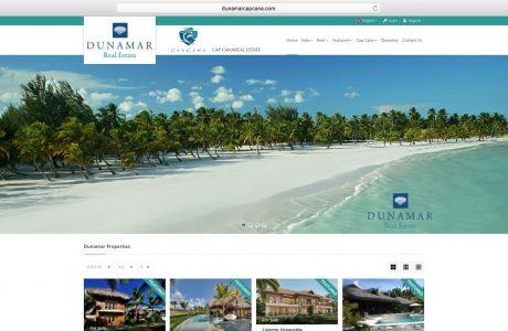 """Web de gestión de todo el inventario de propiedades en venta y alquiler enCap Cana, República Dominicana. Colaboración con <a href=""""http://www.hcodesign.com/es/?utm_source=portfolio&utm_medium=link&utm_campaign=dixitalmedia.com"""" target=""""_blank"""">HCO Design</a>quienes hicieron el diseño de imagen corporativa y web. Sitio web realizado con WordPress."""