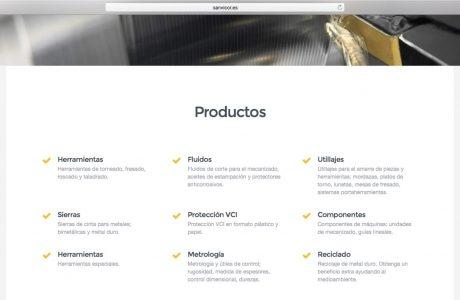 Web corporativa de Sanvicor, empresa dedicada a dar soluciones de mecanizado para los distintos sectores. Sitio web realizado con WordPress.